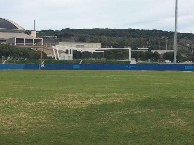 Reforma del Camp de Béisbol Pérez Rozas, Montjuic, Bcn